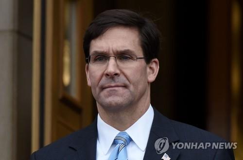 """美국방장관 """"북한, 만족하지 않는다면 시험할 것 같다"""""""