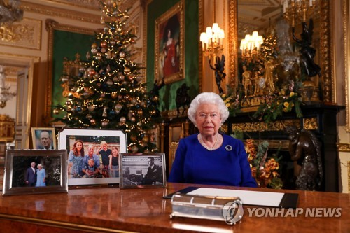 英 엘리자베스여왕 가족문제 근심 속 성탄 메시지(종합)