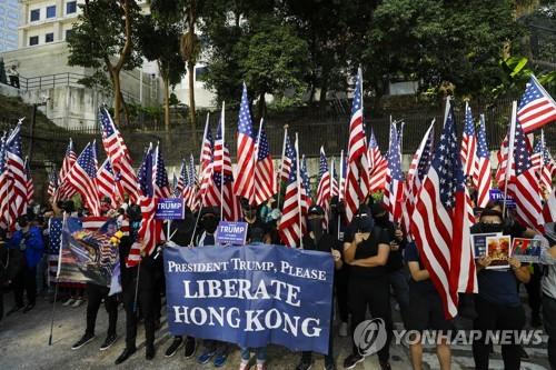 """中관영언론 """"일부 美외교관 홍콩·마카오에서 추방될 수도""""(종합)"""