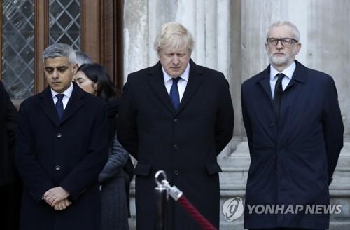 英 런던 브리지 테러 희생자 기도식 열고 추모(종합)