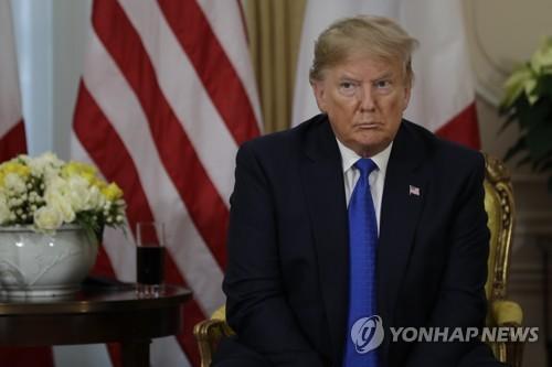 2년만에 '로켓맨' 꺼낸 트럼프, 무력사용까지 거론 '대북경고장'