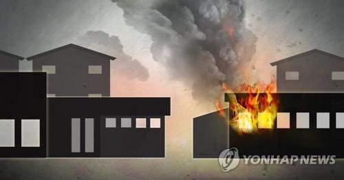 무안 식품가공공장 창고서 화재…작업자 4명 대피