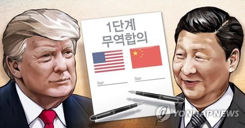 """트럼프, 中 홍콩인권법 반발에 """"中은 무역합의 원해…지켜볼 것"""""""