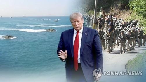 """트럼프, 70주년 나토에 """"방위비 더 내야""""…韓日에도 무차별 압박"""