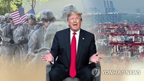 """美공화 중진들 """"韓에 방위비 5배 증액요구 지나쳐…협상용일 것"""""""