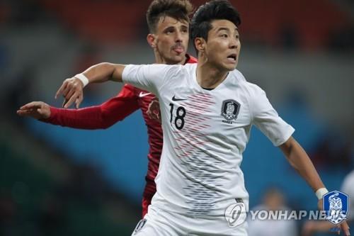 벤투호, EAFF E-1 챔피언십 중국전에 이정협 '원톱 선봉'