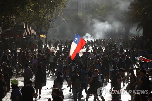'시위사태로 경기침체' 칠레, 6조5천억대 경기부양책 발표