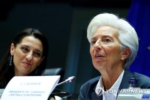 """ECB 라가르드 """"인플레이션 목표 속 기후변화가 정책 중심"""""""