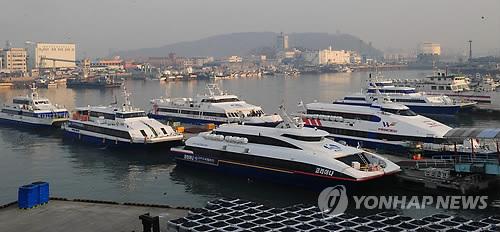 기상 악화로 백령도∼인천 여객선 운항 통제