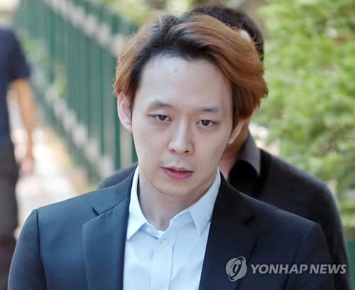 '집행유예' 박유천, 내년 초 태국서 팬들과 행사
