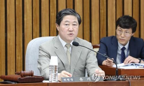 부산 4선 유기준, 오늘 한국당 차기 원내대표 경선 출마선언
