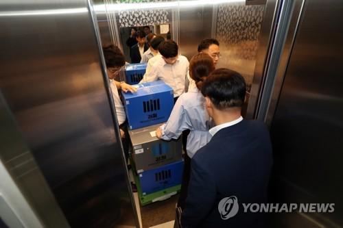 검찰 '광주 민간공원 특혜 의혹' 건설사 압수수색