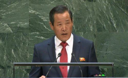 """北 유엔대사도 對美 경고 가세…""""비핵화, 협상테이블서 내려져"""""""
