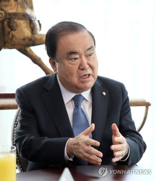 """[신년사] 문의장 """"새해엔 정치 바로 서야…백척간두 각오"""""""