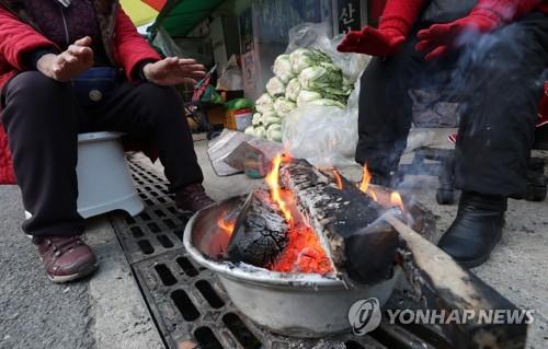 """""""춥다 추워"""" 설악산 영하 14도 기온 뚝…""""내일 더 추워"""""""