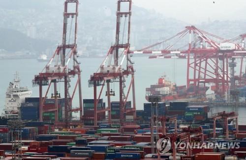11월 수출물가 -1.8%…원화 강세·해외수요 부진 영향