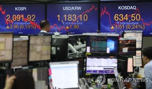 """유진투자 """"외국인 매도세 과도…12월 순매수 돌아올 것"""""""