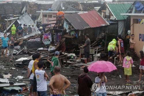 필리핀 태풍 '간무리' 피해 속출…최소 17명 사망(종합)