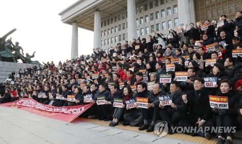 패스트트랙法 오늘 본회의 상정 무산…17일 선거법 처리 난망
