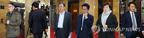 여야 4+1 원내대표급 회동…선거법 표결 앞두고 '표단속'