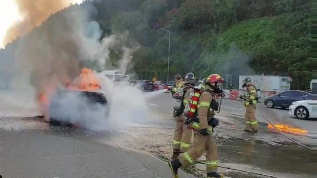 BMW 차량 화재, 사진은 기사와 무관 /사진=연합뉴스