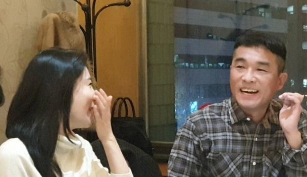 법적으로 부부가 된 가수 김건모와 장지연 씨 (사진=연합뉴스)