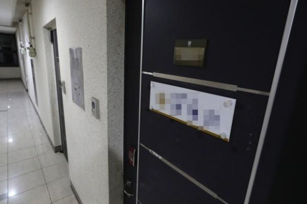 백원우 전 청와대 민정비서관 휘하에서 행정관으로 근무했던 검찰 수사관 A씨가 1일 오후 숨진채 발견된 서울 서초구 한 사무실. 사진=연합뉴스