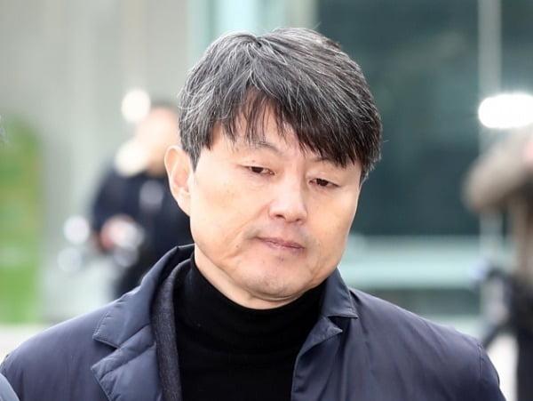 유재수 전 부시장, 영장심사 출석/사진=연합뉴스