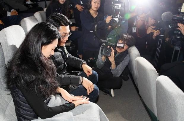 '민식이법' 통과 방청하는 부모들 (사진=연합뉴스)