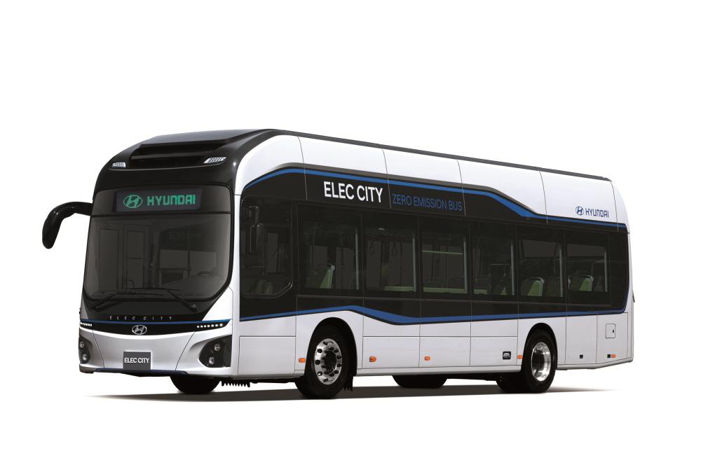 현대차 전기버스 '일렉시티', 산업부 장관상 수상