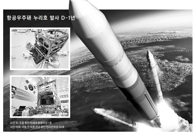 우주 향한 한국의 잰걸음…올해 위성 두 개 발사한다