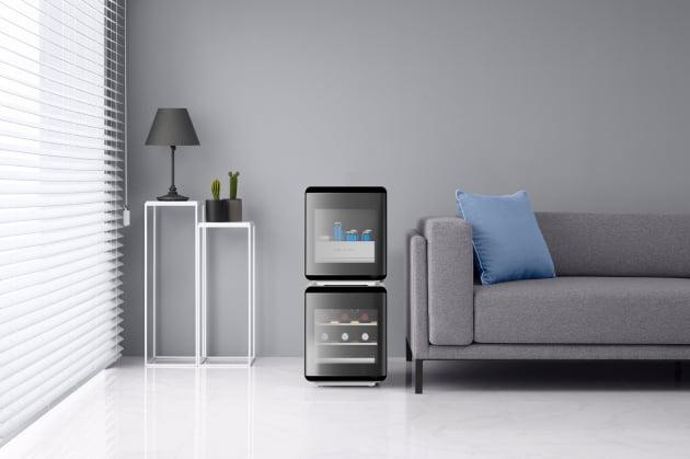 삼성전자가 2020 CES에서 선보일 '뷰티큐브 냉장고'. 삼성전제 제공