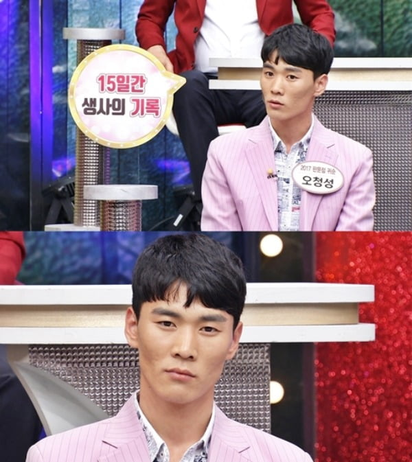 2017년 탈북했던 북한군 병사 오청성 /사진=TV CHOSUN 제공