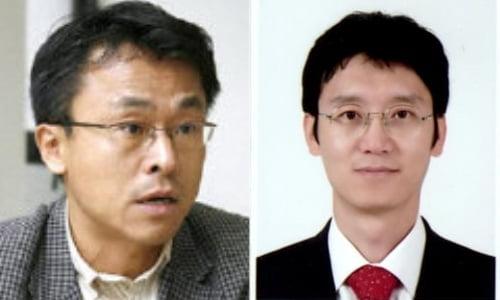 """김기창(왼쪽) 고려대 법학전문대학원 교수가 """"수사권조정은 사기극""""이라며 사직서를 쓴 김웅 검사를 강도높게 비난했다."""