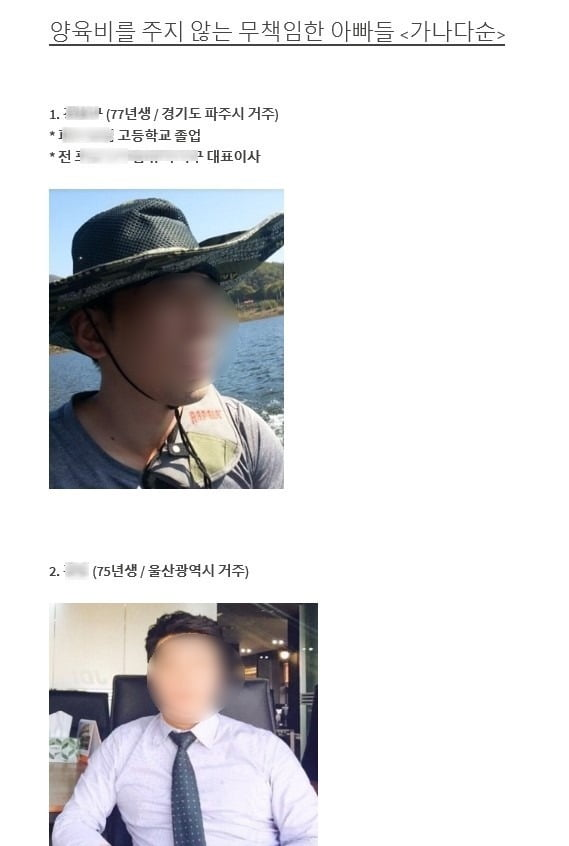 '양육비 안주는 아빠들' 얼굴·개인정보 공개 가능…'배드파더스' 운영자 무죄