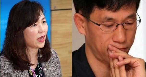"""공지영 """"비난에 소름 돋아"""" vs 진중권 """"문천지교 이단에서 벗어나길 기도"""""""