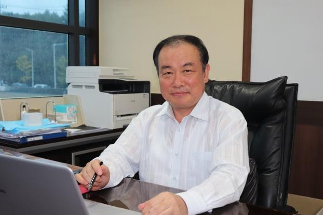 김효규 레몬 대표이사는 나노멤브레인에 대해 블루오션 그 자체라고 강조했다. (사진 = 레몬)