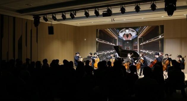 사진=신영증권. 신영증권은 지난 16일 여의도 본사에 있는 신영체임버홀에서 '한예종과 함께하는 신영컬처클래스' 100회를 개최했다.