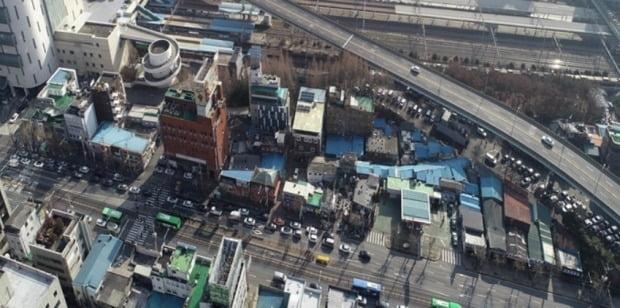 서울 영등포 일대 쪽방촌. 국토교통부 제공