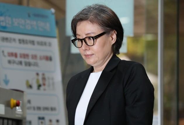 고 신격호 롯데 명예회장과 사실혼 관계인 서미경 씨. 연합뉴스