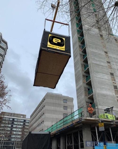 Elements Europe Ltd.(영국)에서 시공중인 Croydon (21F, London) (자료제공 : GS건설)