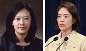 이수진 전 판사(왼쪽)와 고민정 전 청와대 대변인. 사진=한경DB
