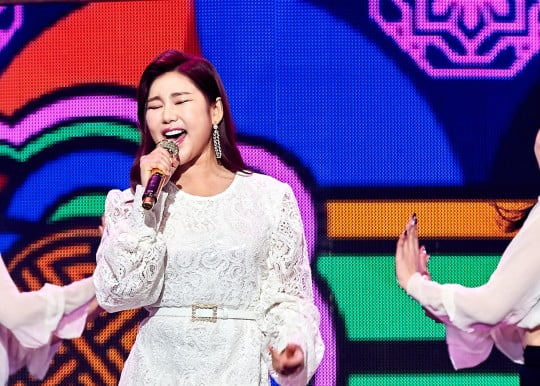 송가인 '고맙습니다' /사진=MBC 제공