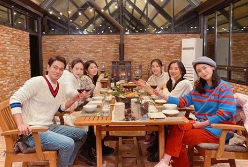 박은혜와 '우리 다시 사랑할 수 있을까' 출연진/사진=박은혜 인스타그램