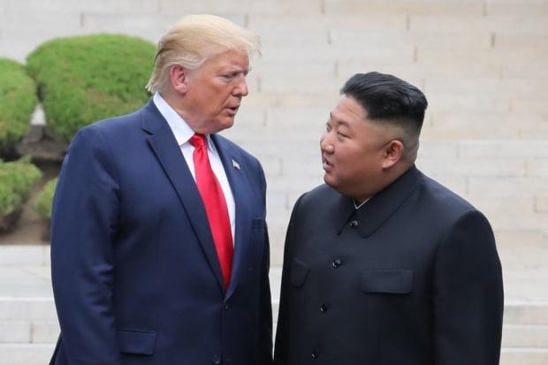 도널드 트럼프 미국 대통령, 김정은 북한 국무위원장/사진=연합뉴스