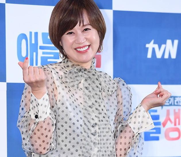 개그우먼 박미선이 9일 오후 서울 상암동 CJ E&M센터에서 열린 tvN '사춘기 리얼 TALK - 애들생각'(연출 김유곤) 제작발표회에 참석했다. /사진=변성현 기자