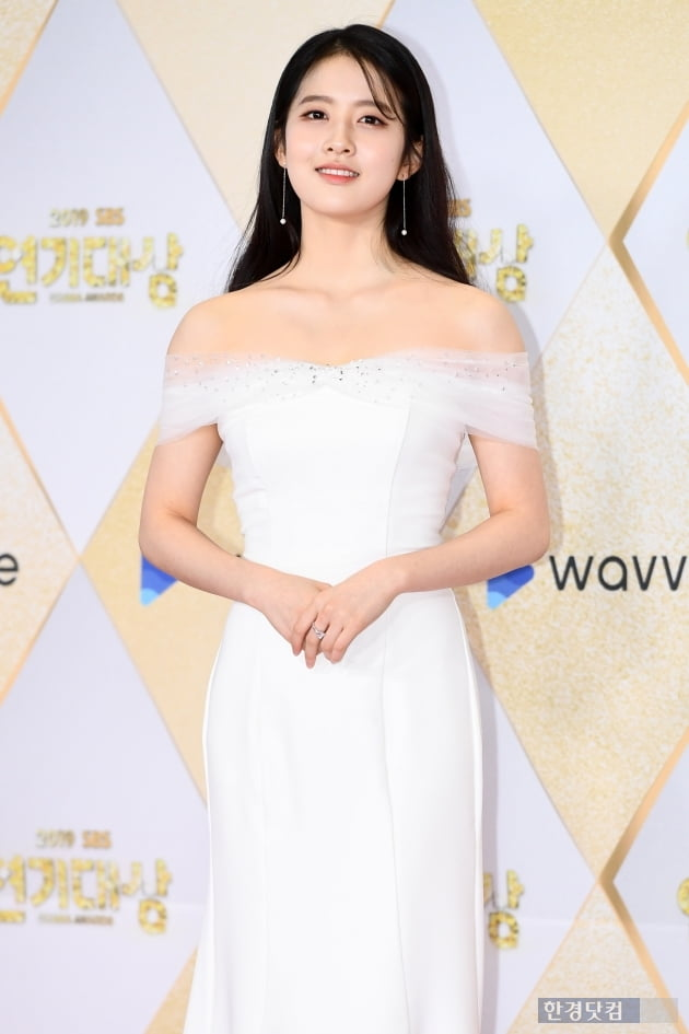[포토] 박시은, '아름다운 미소~' (2019 SBS 연기대상)