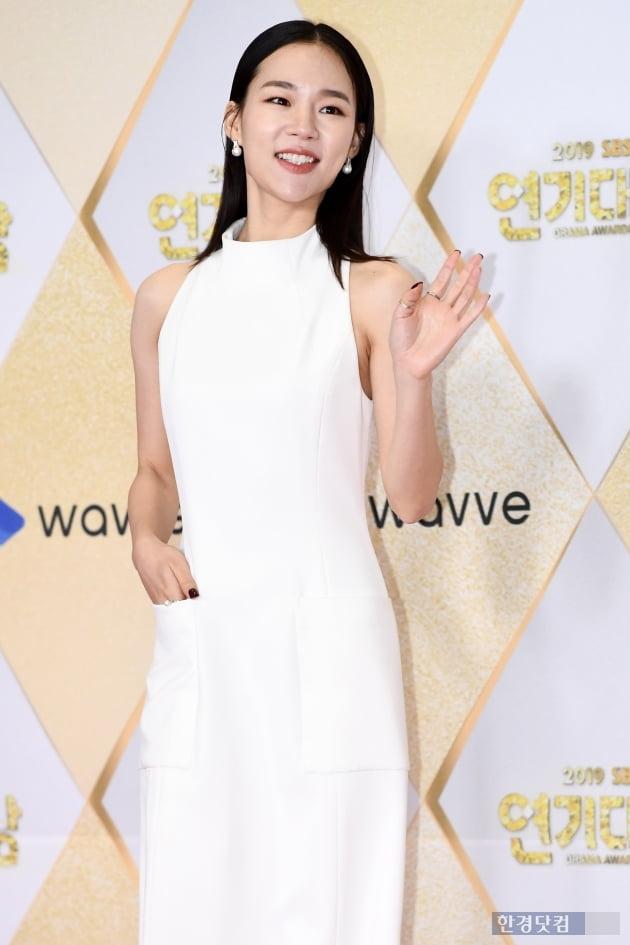 [포토] 한예리, '예쁜 미소~' (2019 SBS 연기대상)