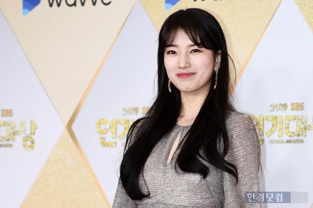 [포토] 배수지, '사랑스러운 미소~' (2019 SBS 연기대상)