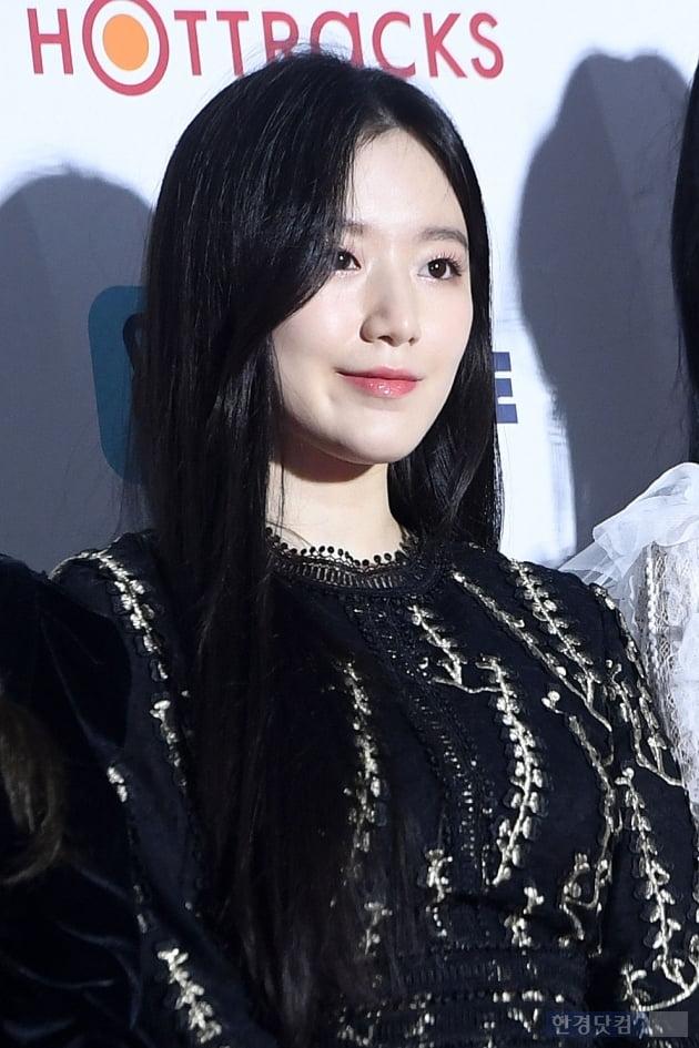 [포토] 아이들 슈화, '분위기 미녀'(가온차트뮤직어워즈)